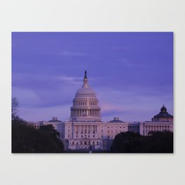 washington dc postcard ii Canvas Print