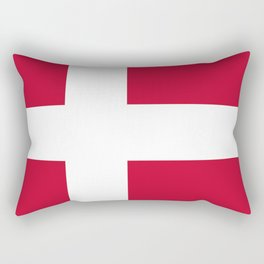 Flag: Denmark Rectangular Pillow