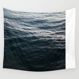 Deep Blue Wall Tapestry