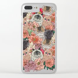 Because Cats Clear iPhone Case