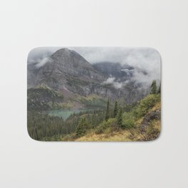 Grinnell Lake from the Trail No. 1 - Glacier NP Bath Mat