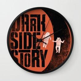 Dark Side Story Wall Clock