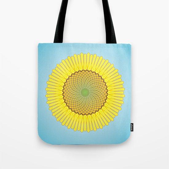Spring Yellow Tote Bag