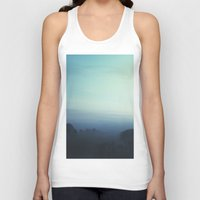 fog Tank Tops featuring Fog by MARY SCHUMACHER