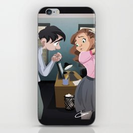 Chicks Dig Scars iPhone Skin