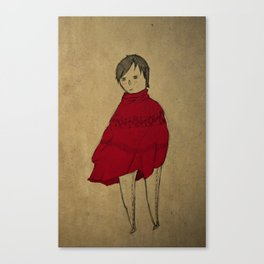 red robe Canvas Print