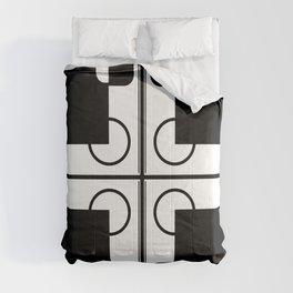 BW-pattern 1 Comforters