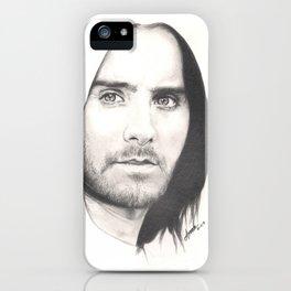 jared leto... iPhone Case
