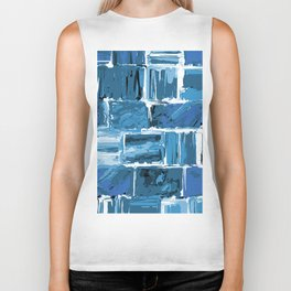 486 - Abstract Collection Biker Tank