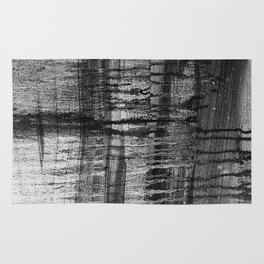 Grayscale Stains Rug