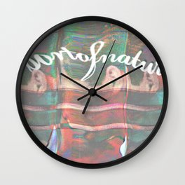Personal Branding Or Something Wall Clock