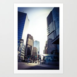 The City is Caving in Around You Art Print