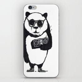 Panda Boom Boom iPhone Skin