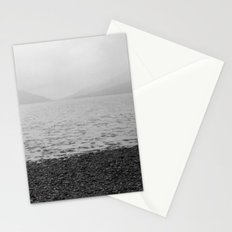 Mountains and the sea Stationery Cards