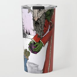 The Yule Goat Travel Mug