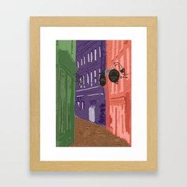 Whitby Colours Framed Art Print