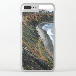 Pathway to the Ocean Clear iPhone Case