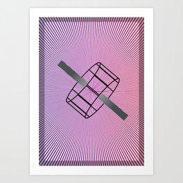 Geometric Calendar - Day 21 Art Print