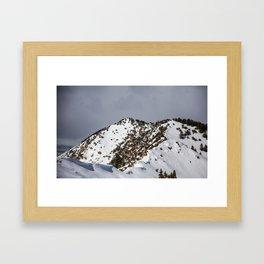Majestic Mountain Framed Art Print