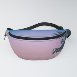 Leafy Sunset Fanny Pack