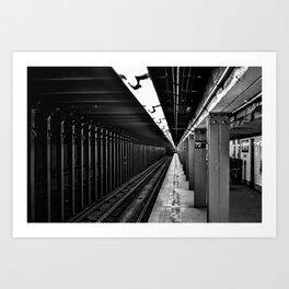 72nd Street Station NYC Subway Art Print