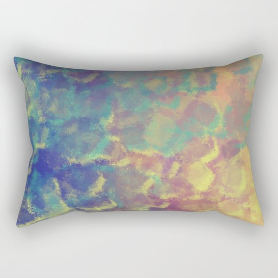 Watercolor Splash #4 #art #society6 Rectangular Pillow