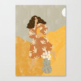 I Stole the Moon Canvas Print