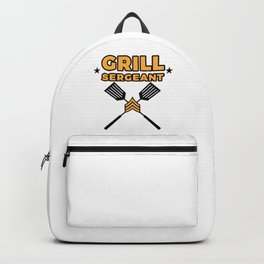 Grill Sergeant - Barbecue BBQ Grilling Meat Backpack