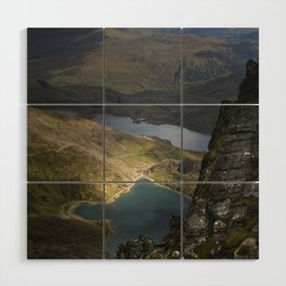 Snowdonia Wood Wall Art