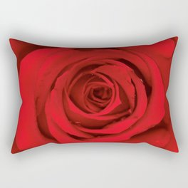 Lovely Red Rose Rectangular Pillow