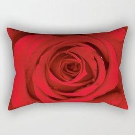 Lovely Red Rose Rectangular Pillow