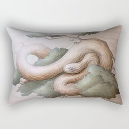 Tree Serpent Rectangular Pillow