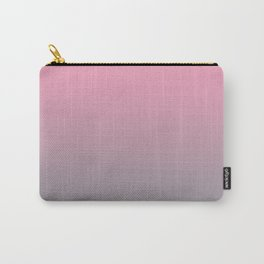 Gradient Blend Pantone 2021 Color of the Year Ultimate Gray 17-5104 And Prism Pink 14-2311 Carry-All Pouch