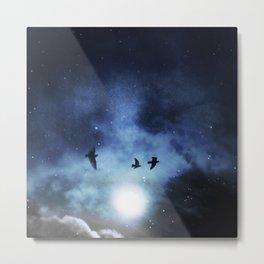 Celestial Currents Metal Print