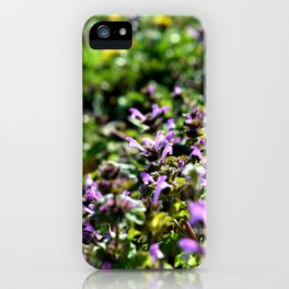 Purple Groundcover iPhone Case