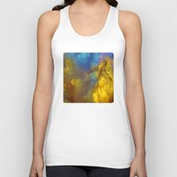 golden Tank Tops featuring Golden by Benito Sarnelli