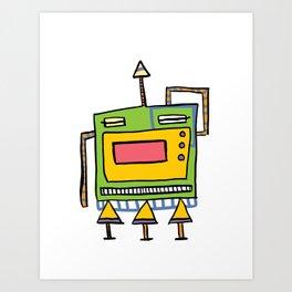 Mr. E. Zee Going Art Print