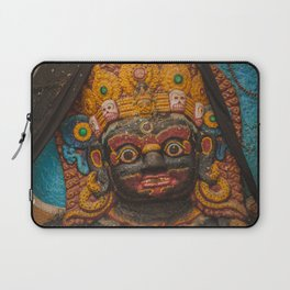 Temples and Architecture of Kathmandu City, Nepal 002 Laptop Sleeve