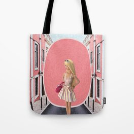 Barbie girl Tote Bag