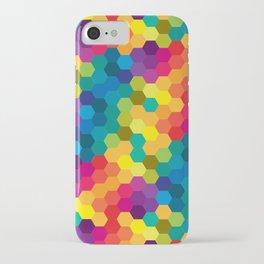 Hexagonized iPhone Case