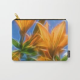 Summer Lillies by Mandy Ramsey, Soul Happy Art Carry-All Pouch