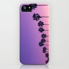Palm Sunset iPhone SE Slim Case