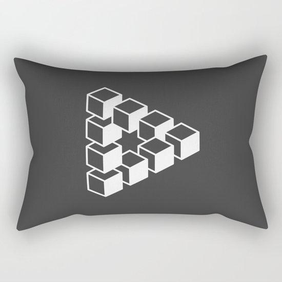 Optical Illusion Rectangular Pillow