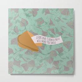 Fortune Cookie Metal Print