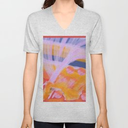 Scattered in Fountains Unisex V-Neck