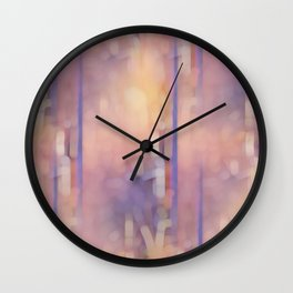 Pattern 2020 027 Wall Clock