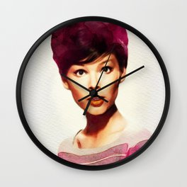 Yvonne Craig, Movie Legend Wall Clock