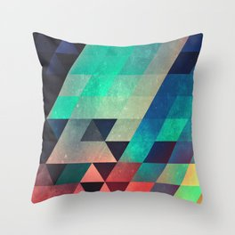 whw nyyds yt Throw Pillow