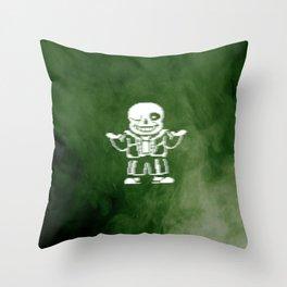 Undertale Sans (Megalovania) Throw Pillow