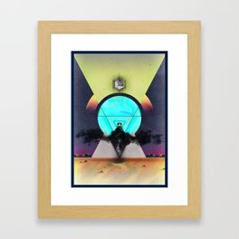 Glow, the light from above Framed Art Print